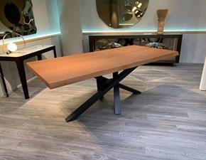 Tavolo Shangai  Riflessi in legno Allungabile
