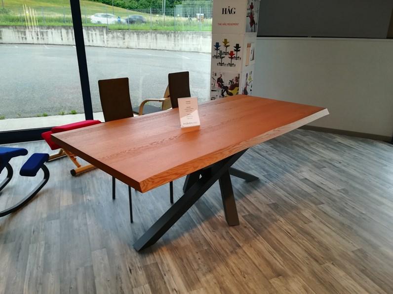 Tavolo Shangai Riflessi in legno Fisso