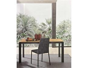 Tavolo Sharp Fgf mobili in legno Rettangolare allungabile