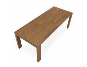 Tavolo Sigma wood Connubia in legno Rettangolare allungabile
