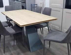 Tavolo Slide di Zamagna in legno Allungabile