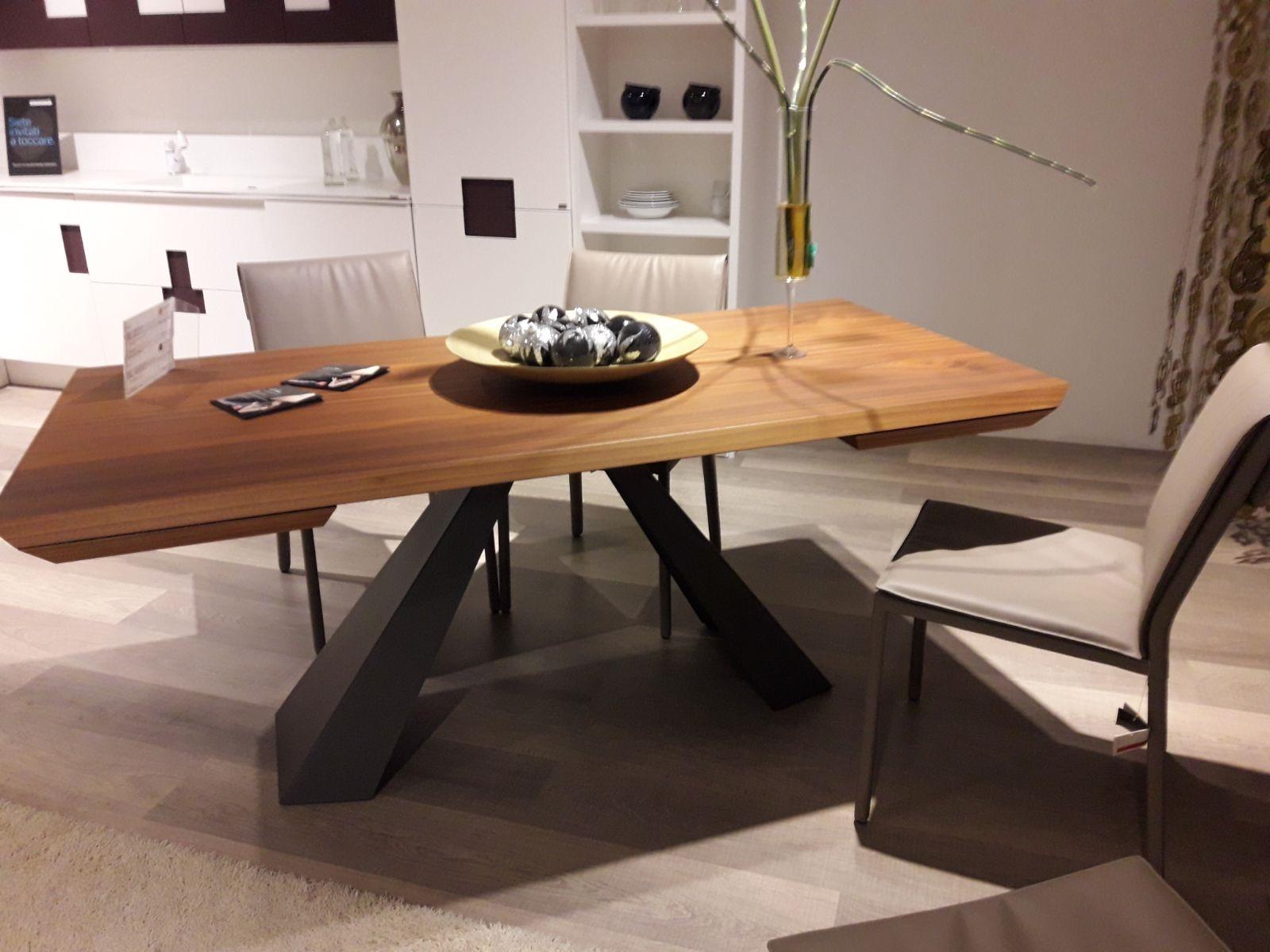 Awesome tavolo soggiorno allungabile photos design for Tavoli soggiorno cristallo allungabili