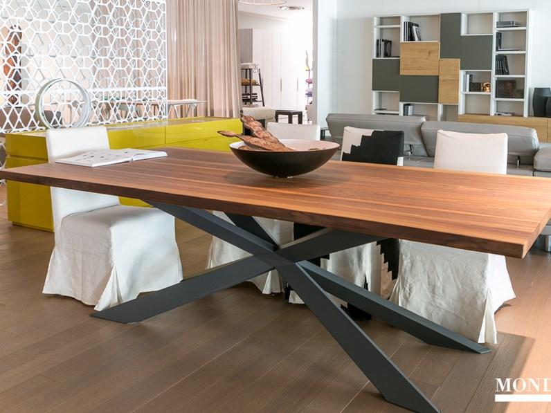 Tavolo spyder wood di cattelan scontato del 20 for Mondini arredamenti