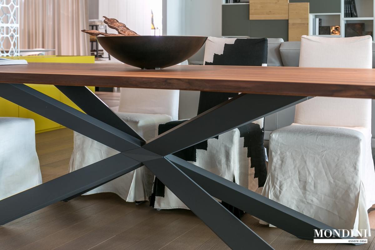 Tavolo spyder wood di cattelan scontato del 20 tavoli a for Mobili cattelan prezzi