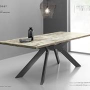 Tavolo Steel rettangolare fisso