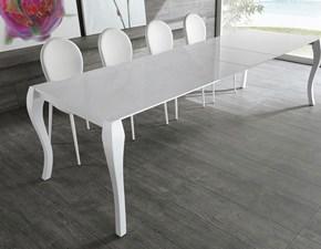 Tavolo rettangolare allungabile Shining di Stones