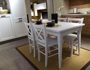 Tavolo allungabile York+4 sedie Stosa Cucine scontato del -30 %