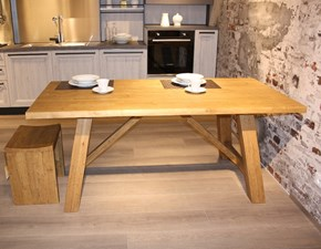 Tavolo Style Fgf in legno Fisso