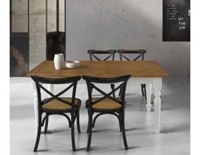 Tavolo T715massello Md work in legno Allungabile