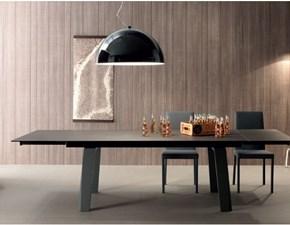 Tavolo Tavolo allungabile piano in ceramica Md work in ceramica Quadrato allungabile