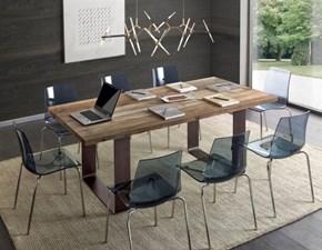 Tavolo Tavolo in rovere design moderno mottes mobili Artigianale in OFFERTA OUTLET