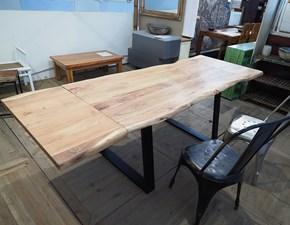 Tavolo Tavolo industrial legno in offerta  Outlet etnico a prezzo scontato 41%