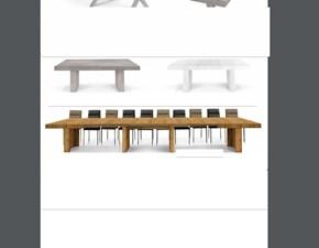Tavolo Tavolo maxi allungabile Md work in legno Allungabile