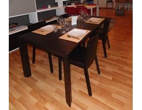 Tavolo Tavolo nick rovere moro Pianca in legno Allungabile