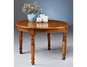 Tavolo Tavolo rotondo allungabile legno in stile classico mottes mobili Artigianale in legno Allungabile