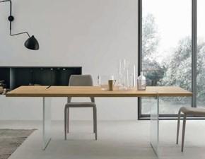 Tavolo Tavolo struttura vetro  Md work in vetro Fisso