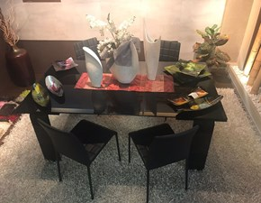 Tavolo Tecno  di Unico italia in vetro Allungabile