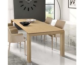 tavolo tempor825 allungabile e tinta legno