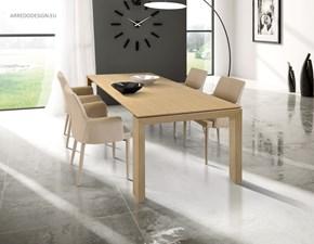 Tavolo Tempor825 in tinta legno naturale