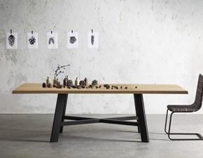 Tavolo in ceramica rettangolare living ceramica piano a botte riflessi in offerta outlet - Tavolo riflessi living prezzo ...