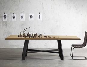 Tavolo Thor Pointhouse in legno Fisso