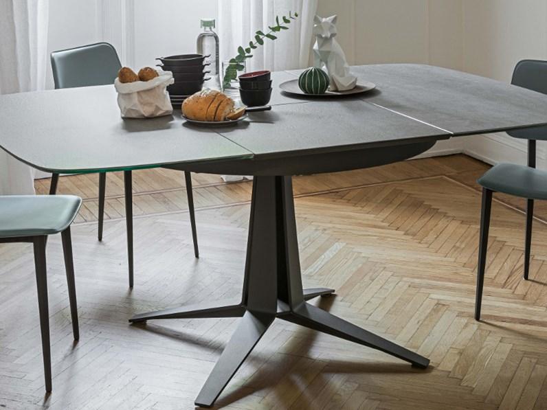 Tavolo tondo allungabile alta qualita - Dimensioni tavolo tondo 4 persone ...