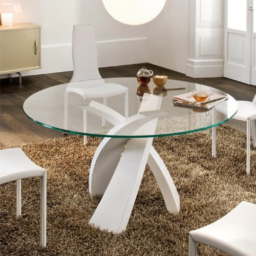 Tavolo eliseo tondo tonin casa tavoli a prezzi scontati for Gardini arredamenti