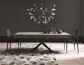 Tavolino trasformabile in tavolo Ulisse Altacom in legno Rettangolare allungabile