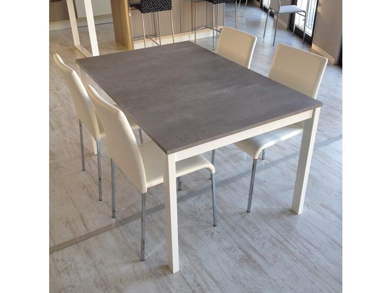 Tavolo 90 X 90 Allungabile Bianco.Tavolo Bianco 140 X 90 Cm Allungabile Scontato Del 31