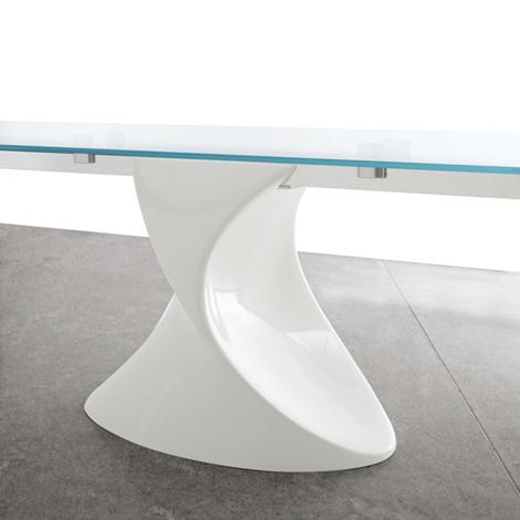 shanghai big allungabile in vetro : ... 65 % tavolo allungabile in vetro modello shanghai marca tonin casa a