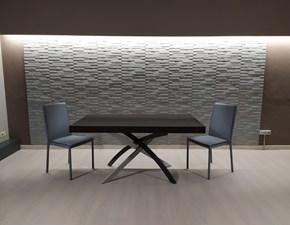 Tavolo Zamagna Set tavolo twist + 4 sedie kilt PREZZI OUTLET