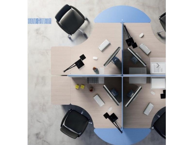 Tavolo zg mobili mobile ufficio operativo tekno 07 prezzi for Mobili ufficio outlet