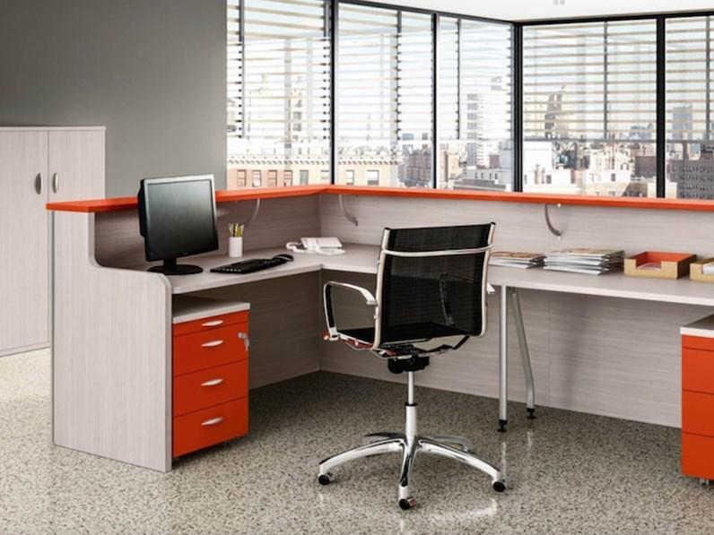 Tavolo zg mobili mobile ufficio operativo tekno 10 for Mobili ufficio outlet