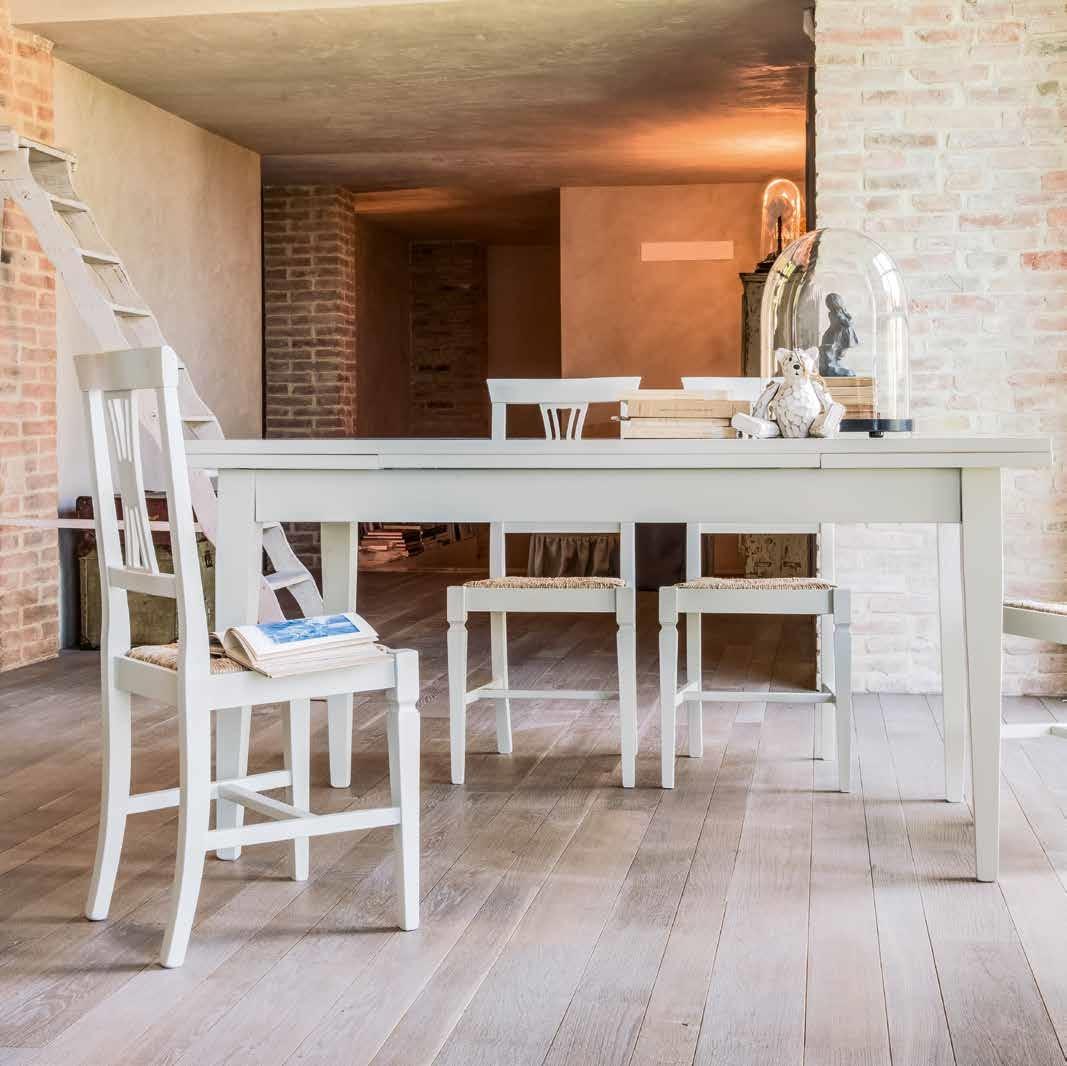 Tonin casa tavolo style rettangolari rettangolari for Tavoli rettangolari allungabili in legno