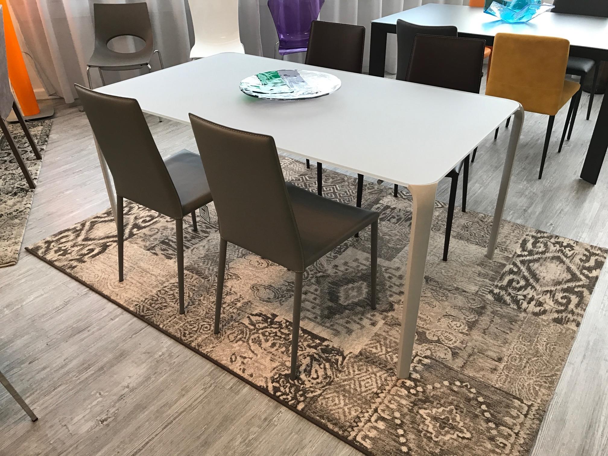 Tonin casa tavolo tavolo light 160x90 250 tavoli a - Tavolini tonin casa ...
