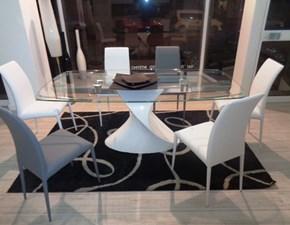 Tonin Casa Tavolo Tavolo shangai tonin casa vetroresina laccato lucido bianco scontato del -58 %