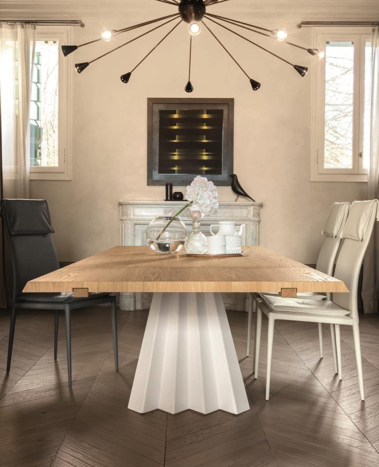 Tonin casa tavolo ventaglio rettangolari allungabili legno for Tavoli rettangolari allungabili in legno
