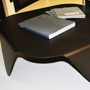 Ycami Fold tavolino quadrato alluminio brown