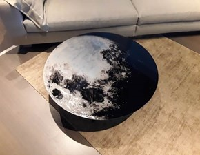 Tavolino Moroso modello My moon my mirror in OFFERTA OUTLET